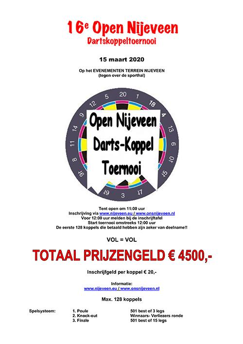 Open Nijeveen 2019 | Flyer
